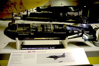 BL755 Anti-armour cluster bomb