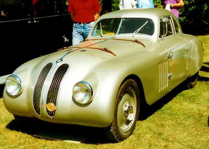BMW 328 Mille Miglia Coupe 1940