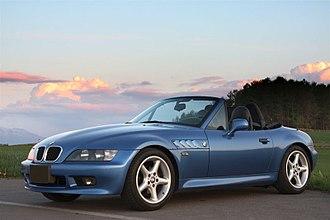 BMW Z3 - Image: BMW Z3 1.9L 1998