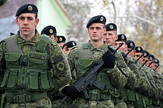 Kosovo Security Force - Members of the Kosovo Security Force