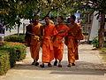 BUDDIST MONKS VIENTIANE LAOS FEB 2012 (6985509039).jpg