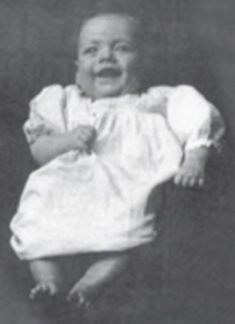 Stu Hart - Hart as a baby in 1915