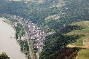 Bacharach - Aerial photograph 2007