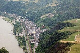 Bacharach - Aerial photograph 2007