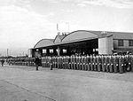 Bainbridge Army Airfield - Cadets in Formation on Flight Line.jpg