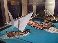 Bait Al Baranda Museum-Naval battle.JPG