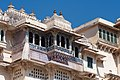 Balconies with ceramic tiles, City Palace, Udaipur.jpg