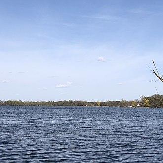 Ballantyne Lake - Image: Ballantyne Lake, Blue Earth County, MN, US