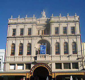 Mechanics' Institutes - Ballarat Mechanics Institute building
