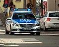 Bammental - Kerweumzug 2016 - Streifenwagen Mercedes-Benz E-Klasse - MA1 440 - BWL-4 3229 - 2016-08-21 12-20-56.jpg