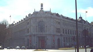 Sede central del Banco de España (Madrid), construida de 1884 a 1891.