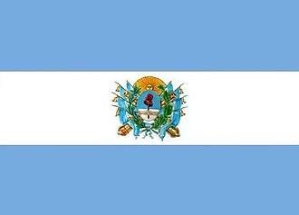 Battle of Pavón - Image: Bandera Estado de Buenos Aires