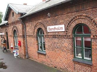 Bandholm - Bandholm Station  in the town.