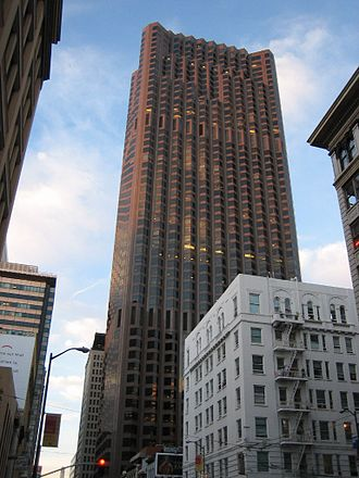 555 California Street - Image: Bank of America Tower San Francisco