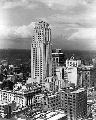 Commerce Court - Commerce Court North circa 1930