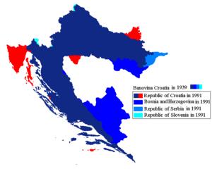 Banovina of Croatia - Image: Banovina