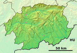 Špania Dolina is located in Banská Bystrica Region