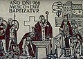 Baptism of Poland.Mural in Gniezno.JPG