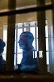 Barack Obama during a tour of Robben Island Prison - 2013 (9317453406).jpg