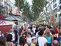 Barcelona - people on Las Ramblas - 2006 - panoramio.jpg
