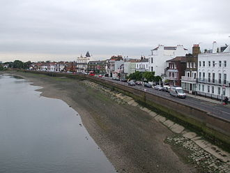 Barnes, London - Image: Barnes from Bridge