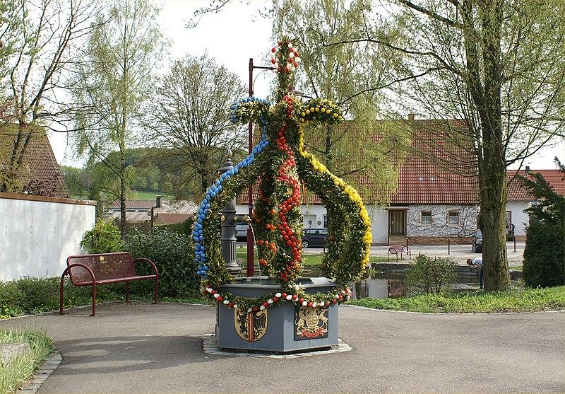 Datei:Bartholomд; Osterbrunnen.jpg