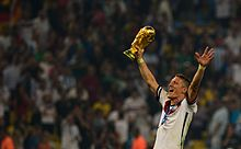 Bastian Schweinsteiger celebrates at the 2014 FIFA World Cup.jpg
