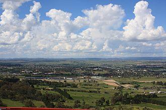 Bathurst, New South Wales - Bathurst skyline