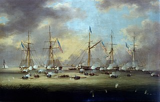 Battle of Lake Borgne naval battle fought between Britain and the United States in the War of 1812