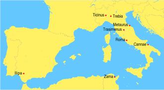 Battle of Crotona - Image: Battles second punic war