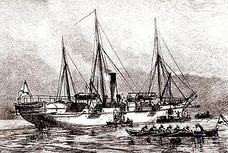 Torpedo boat tender - Velikiy Knyaz Konstantin, the first historical torpedo boat tender