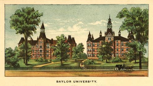 Baylor University 1892 front