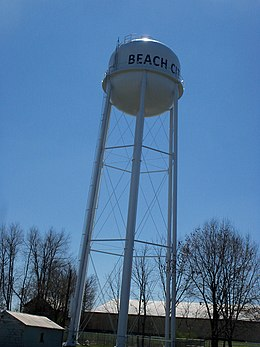 Beach City, Ohio Water Tower.JPG