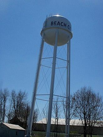 Beach City, Ohio - Image: Beach City, Ohio Water Tower