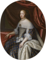 Beaubrun, Charles - Anne of Austria, Queen of France, oval.png