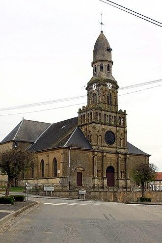 Beaumont-en-Argonne - Image: Beaumont en Argonne église