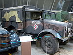 Bedford 15cwt military truck, NELSAM, 27 June 2015.JPG