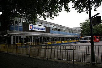Bedford - Bedford bus station in July 2007