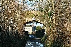 Beercrocombe - Image: Beercrocombe railway bridge geograph.org.uk 352586