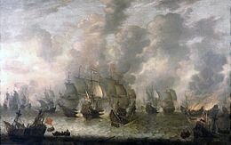 Description de l'image Beerstraaten, Battle of Scheveningen.jpg.