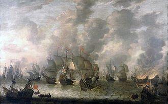 Jan Abrahamsz Beerstraaten - Image: Beerstraaten, Battle of Scheveningen