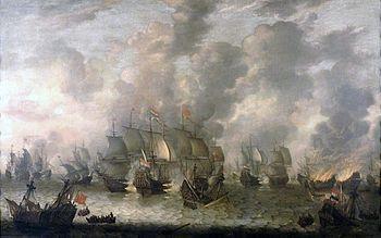 Sea battle at Scheveningen