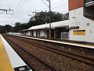 Beerwah railway station