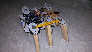 Hexapod (robotics) - Beetle hexapod