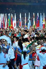 Beijing Olympics, Closing Ceremony, Yao Ming