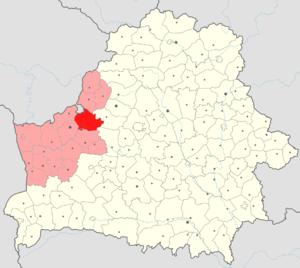 Картинки по запросу ивьевский район на карте гродненской области