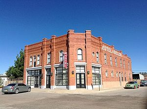 Belen, New Mexico - The Belen Hotel is listed on the National Register of Historic Places