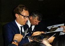 The imitation game wikipedia cumberbatch signing autographs at the toronto international film festival september 2014 stopboris Images