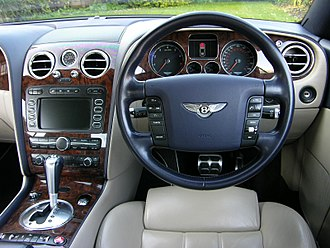 Bentley Continental GT - Interior