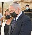 Benyamin Netanyahu and Miki Haimovich, November 2020 (GPOABG 6696) (cropped).jpg